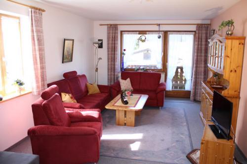 Ferienwohnung II Wohnzimmer